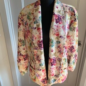 Ashley Stewart Floral Jacket